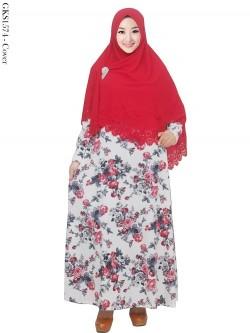 GKS1574 Gamis Syari Misby Hijab Syiria Press