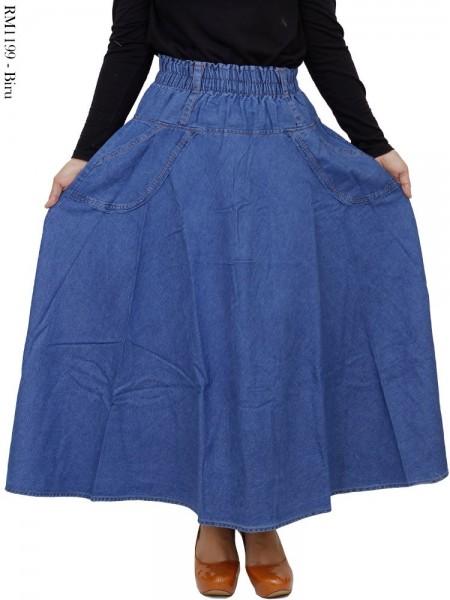 RM1199 Rok Jeans Panjang Payung