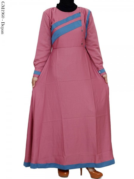 GM1960 Gamis Balotelly Mix Warna