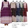 GKS1484 Gamis Jersey Misby Motif