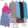 GKS1593 Gamis Syar'i Jumbo Misby List Press