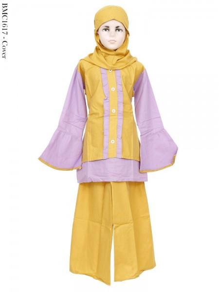 BMC1617 Baju Anak Setelan Celana Mix Wrana