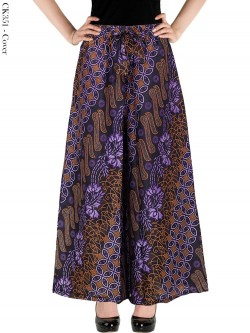 CK351 Celana Kulot Jumbo Katun Batik