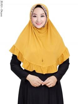 JL824 Jilbab Jersey Syiria Batik