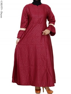 GM1979 Gamis Katun Ballotelly Embos