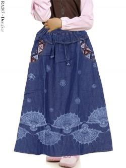 RA207 Rok Jeans Anak Tanggung 6-10th