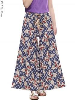CKA26 Celana Kulot Anak Katun Linen Batik