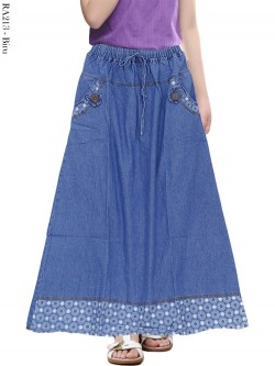 RA213 Rok Jeans Anak Tanggung 6-11th