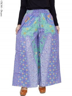 CK366 Celana Kulot Jumbo Katun Batik