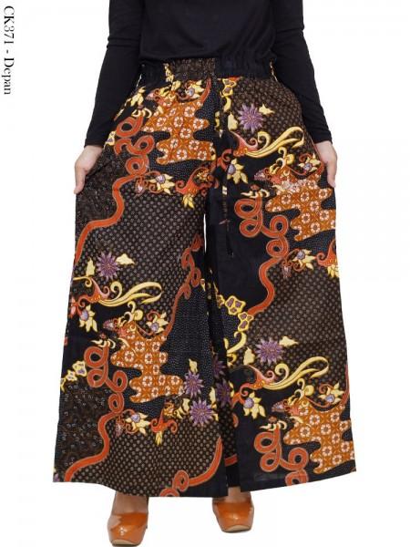 CK371 Celana Kulot Jumbo Katun Batik