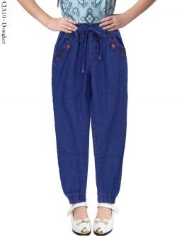 CJA10 Celana Jogger Jeans Anak