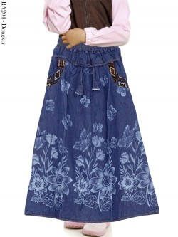 RA204 Rok Jeans Anak Tanggung 6-10th