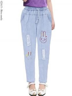 CJA13 Celana Jeans Anak Bordir