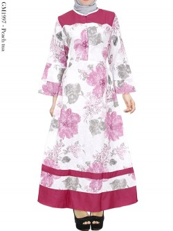 GM1997 Gamis Payung Katun Mix Balotelly