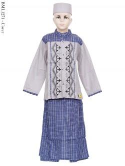 BML1271 (7-12) Baju Koko Anak Celana Sarung