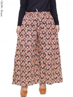 CK380 Celana Kulot Jumbo Katun Batik