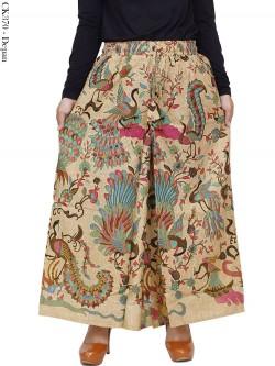 CK370 Celana Kulot Jumbo Katun Batik