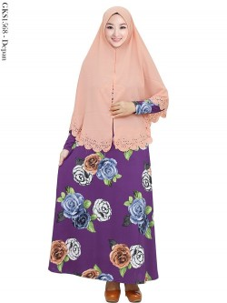 GKS1568 Gamis Syar'i Misby Hijab Bubble Press