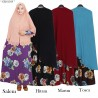 GKS1568 Gamis Syar'i Misby Hijab Bubble Press