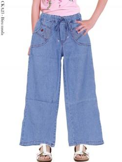 CKA23 Celana Kulot Jeans Anak