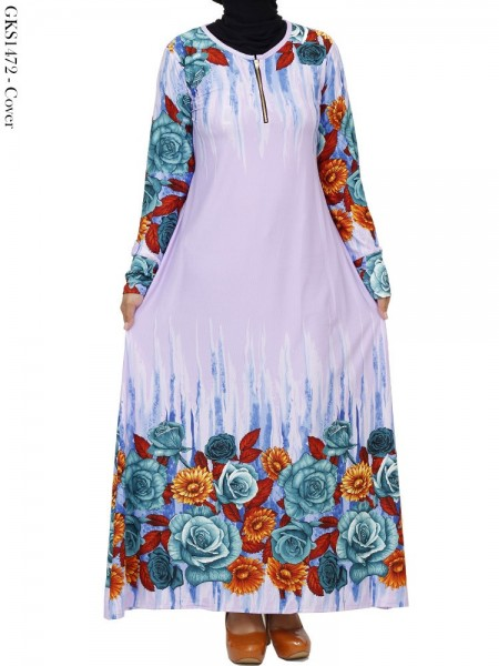 GKS1472 Gamis Jersey Misby Motif