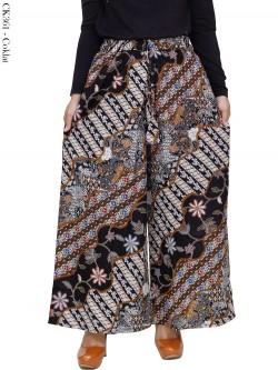 CK361 Celana Kulot Jumbo Katun Batik