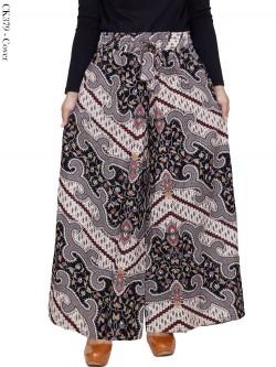 CK379 Celana Kulot Jumbo Katun Batik