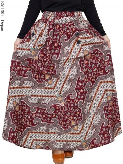 RM1301 Rok Batik Shannia terbaru model Payung