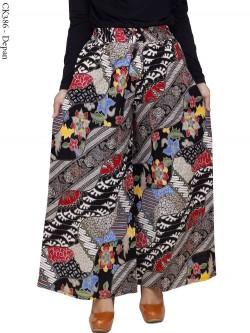 CK386 Celana Kulot Jumbo Katun Batik