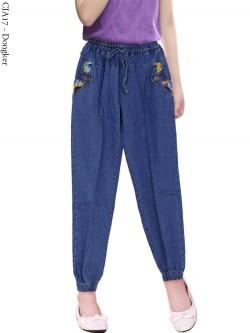 CJA17 Celana Jogger Jeans Anak