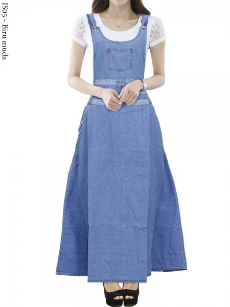 JS05 Overall Maxi Jeans Remaja