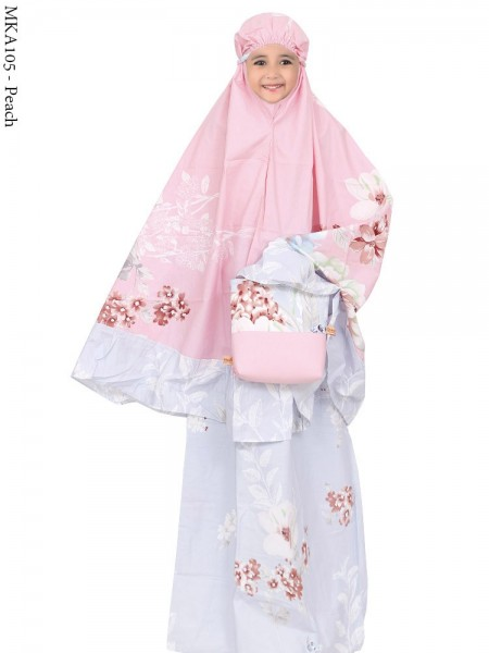MKA105 Mukena Anak Katun Jepang Batik