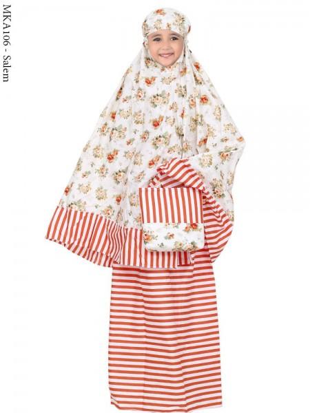 MKA106 Mukena Anak Katun Jepang Batik