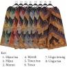 CK387 Celana Kulot Katun Batik