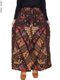 CK388 Celana Kulot Katun Batik