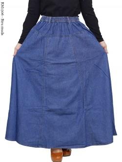 RM1306 Rok Jeans Jumbo Klok Lebar Pecah 6