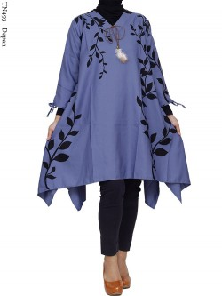 TN493 Tunik Jumbo Balotelly Motif