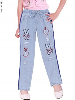 CJA23 Celana Jeans Anak Bordir