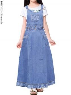 BMC1623 Overall Jeans Anak Tanggung