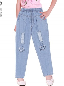 CJA24 Celana Jeans Anak Bordir