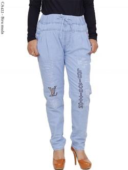 CA422 Celana Jeans Remaja/ABG Dewasa Bordir