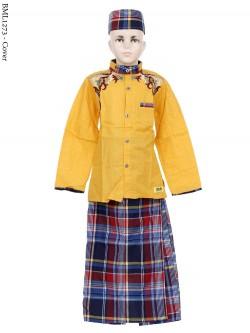 BML1273 (7-12) Baju Koko Anak Celana Sarung