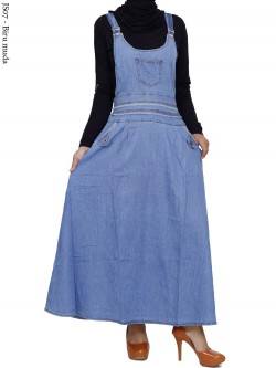 JS07 Overall Maxi Jeans Remaja