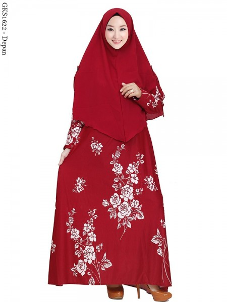 GKS1622 Gamis Syar'i Misby