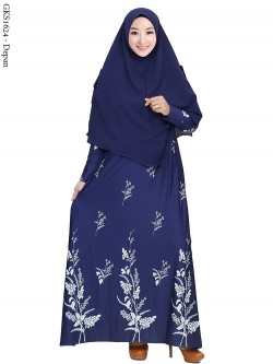 GKS1624 Gamis Syar'i Misby
