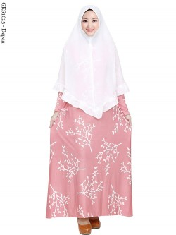 GKS1625 Gamis Syar'i Misby