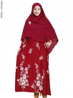 GKS1627 Gamis Syar'i Misby