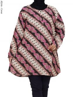 AJ209 Atasan Jumbo Katun Batik