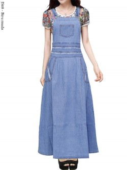 JS08 Overall Maxi Jeans Remaja