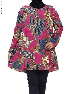 AJ208 Atasan Jumbo Katun Batik